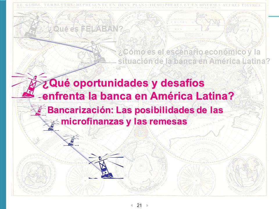 ¿Qué oportunidades y desafíos enfrenta la banca en América Latina