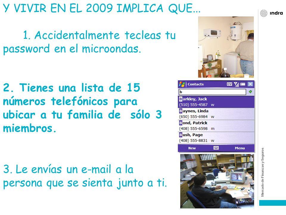 Y VIVIR EN EL 2009 IMPLICA QUE...