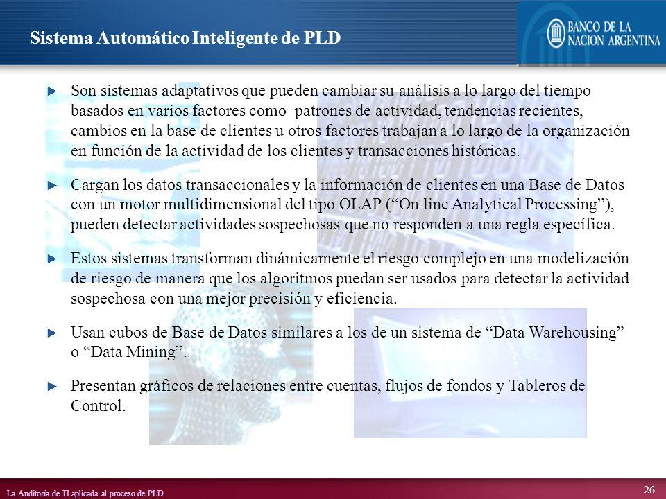 Sistema Automático Inteligente de PLD