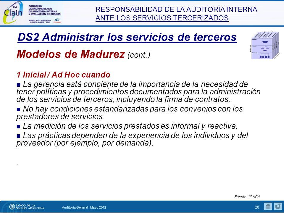 DS2 Administrar los servicios de terceros