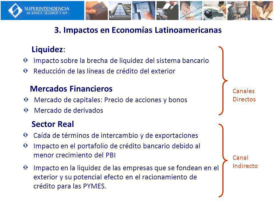 3. Impactos en Economías Latinoamericanas
