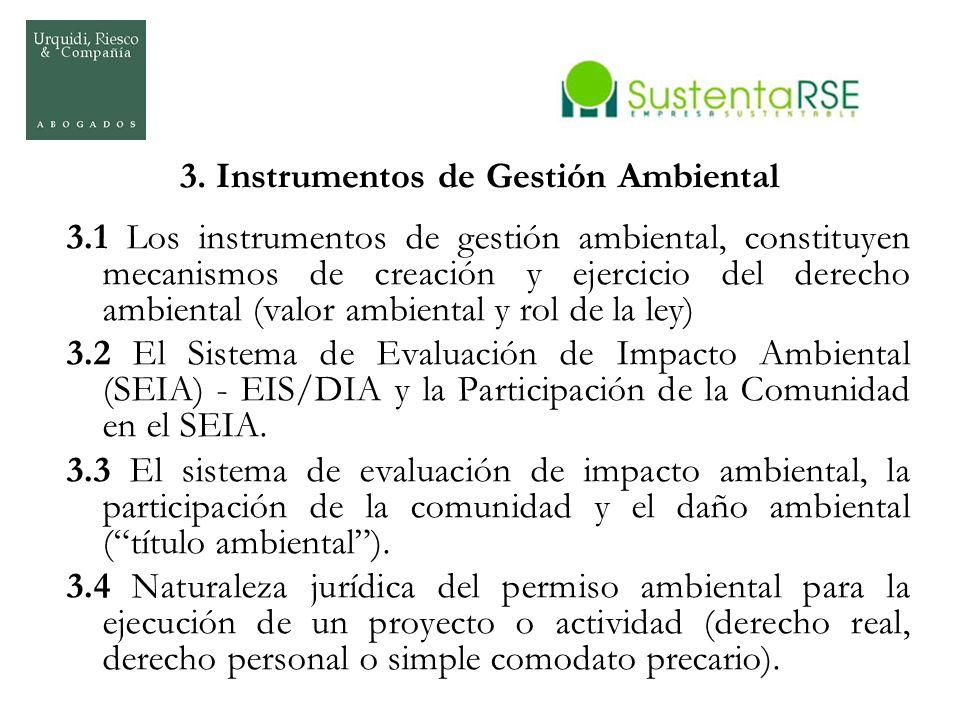3. Instrumentos de Gestión Ambiental