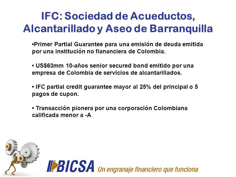 IFC: Sociedad de Acueductos, Alcantarillado y Aseo de Barranquilla