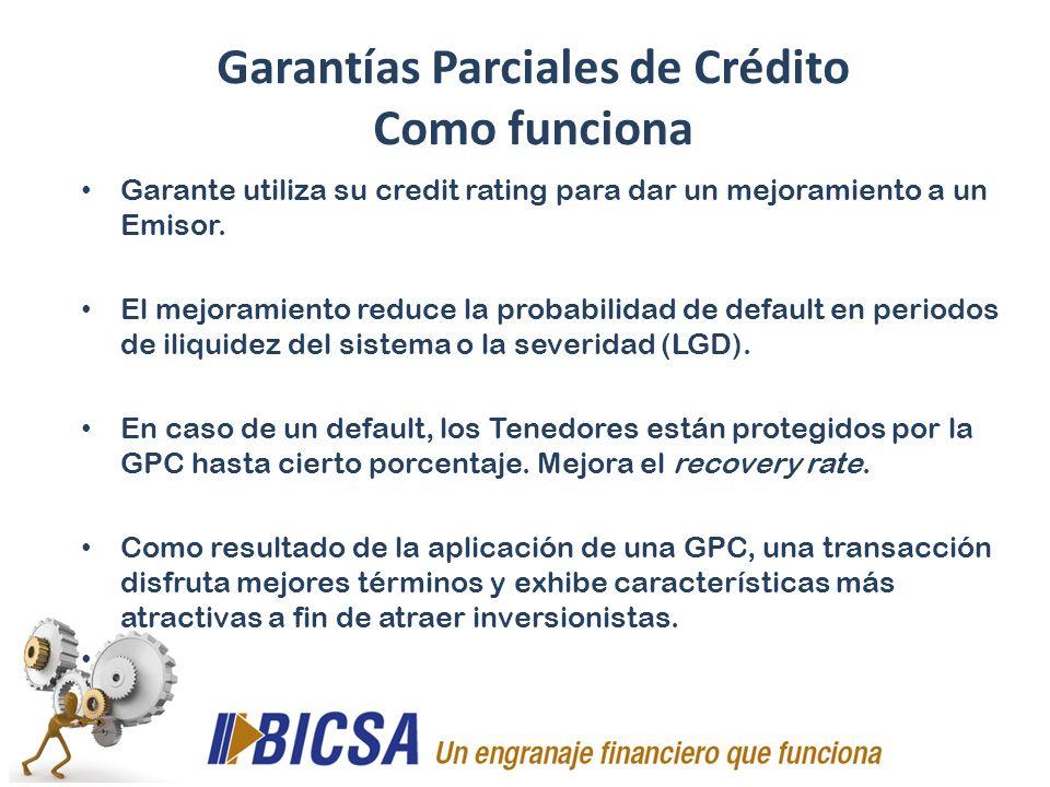 Garantías Parciales de Crédito