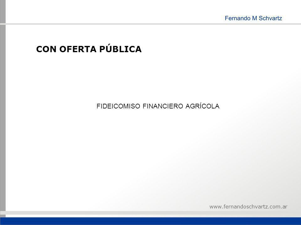 FIDEICOMISO FINANCIERO AGRÍCOLA