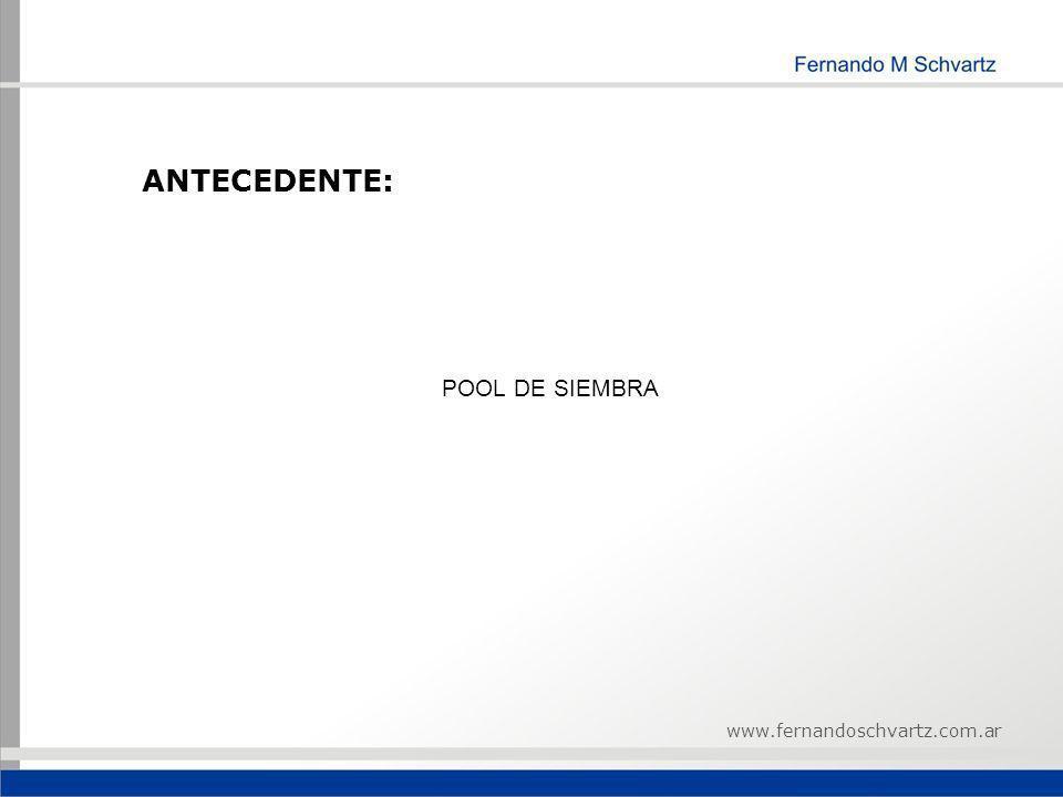 POOL DE SIEMBRA www.fernandoschvartz.com.ar