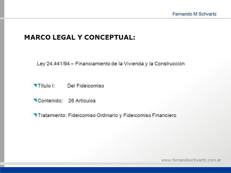 MARCO LEGAL Y CONCEPTUAL: