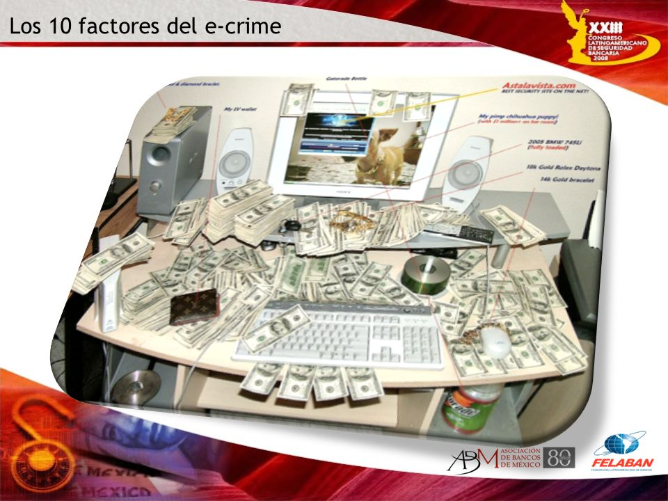 Los 10 factores del e-crime