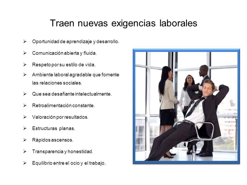 Traen nuevas exigencias laborales
