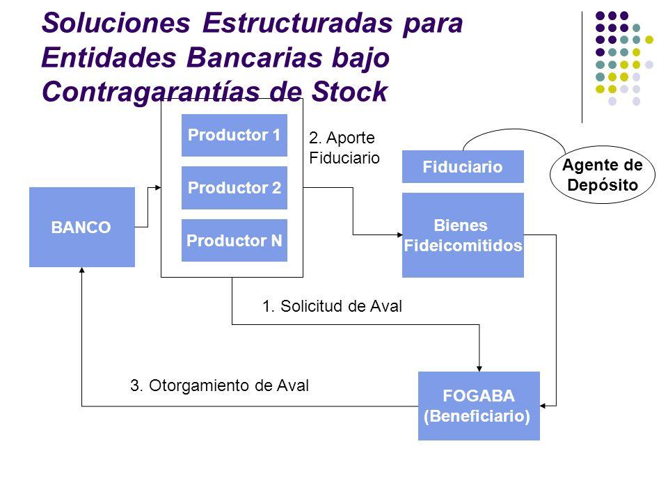 Soluciones Estructuradas para Entidades Bancarias bajo Contragarantías de Stock