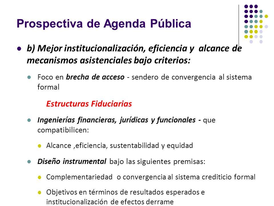 Prospectiva de Agenda Pública