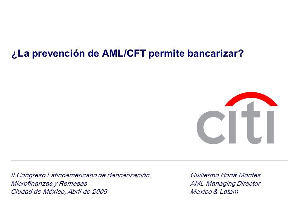 ¿La prevención de AML/CFT permite bancarizar