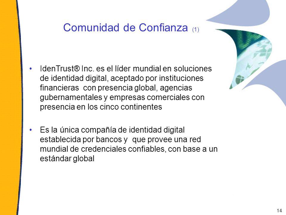Comunidad de Confianza (1)