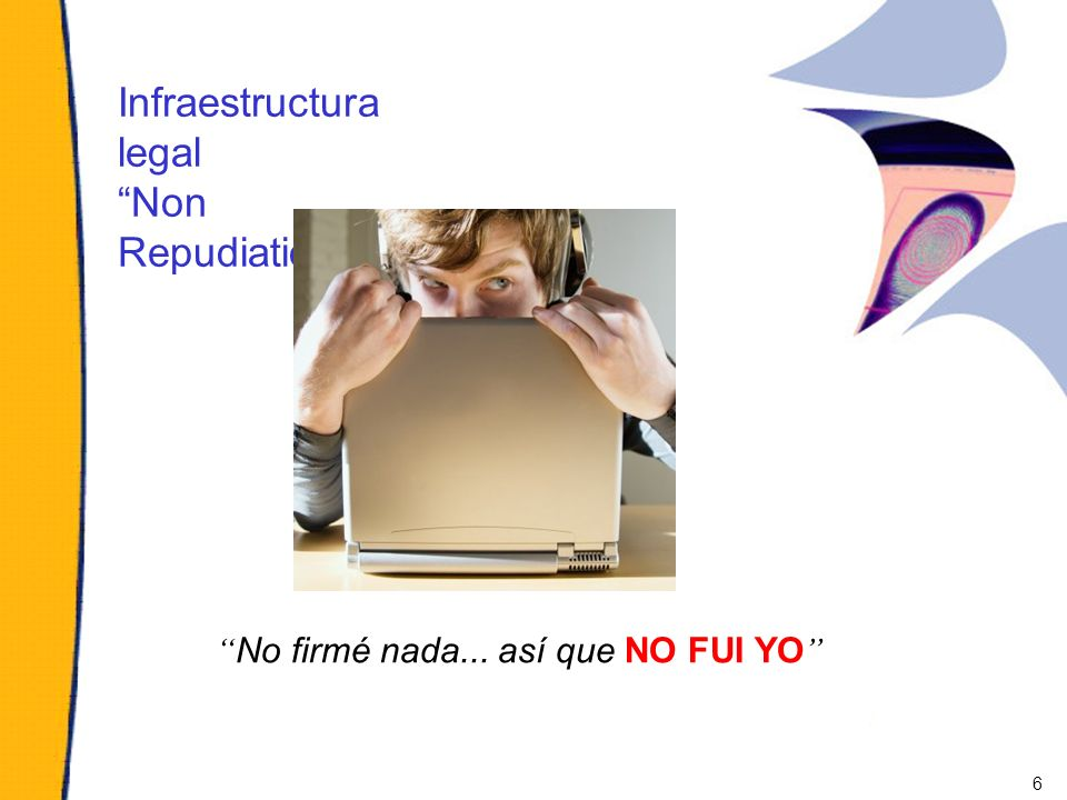 Infraestructura legal Non Repudiation