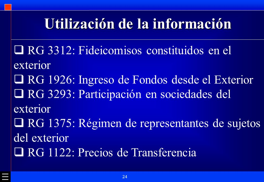 Utilización de la información