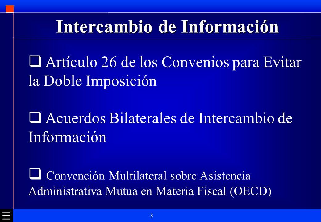 Intercambio de Información