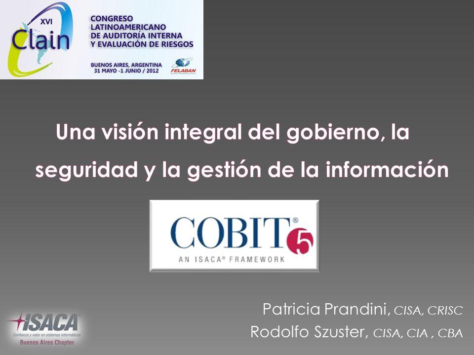 Una visión integral del gobierno, la seguridad y la gestión de la información