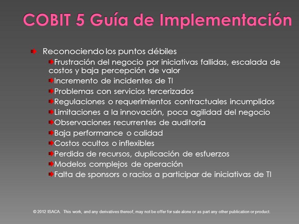 COBIT 5 Guía de Implementación