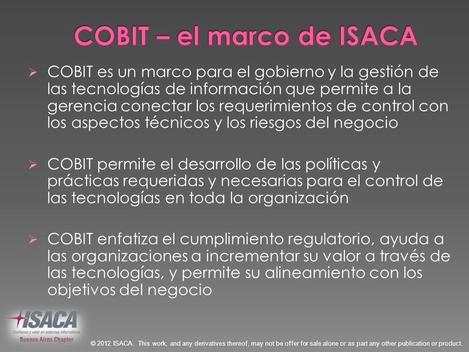 COBIT – el marco de ISACA