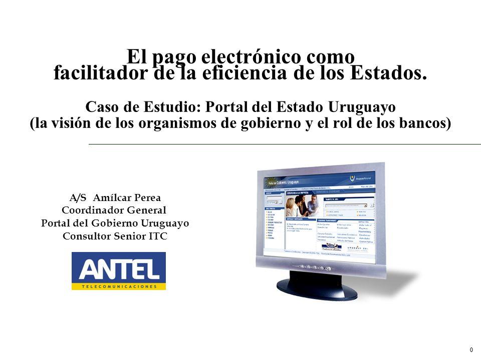 Portal del Gobierno Uruguayo