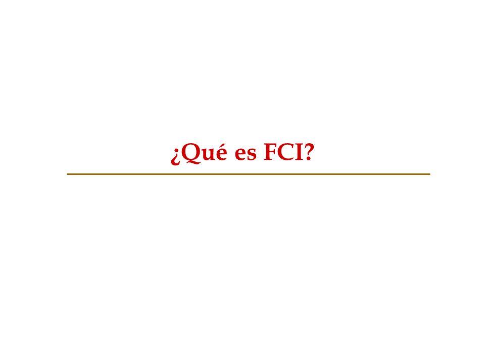 ¿Qué es FCI