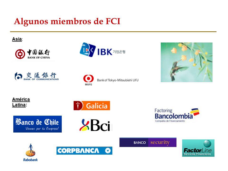 Algunos miembros de FCI