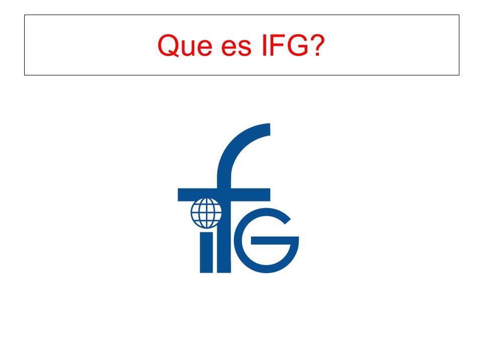 Que es IFG