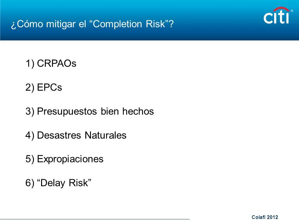 ¿Cómo mitigar el Completion Risk