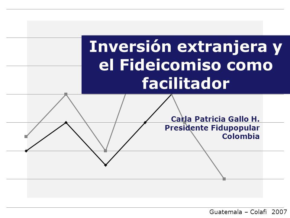 Inversión extranjera y el Fideicomiso como facilitador