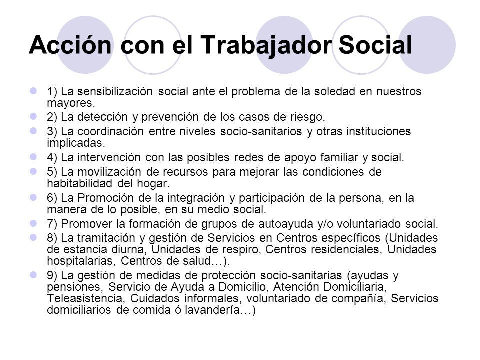 Acción con el Trabajador Social