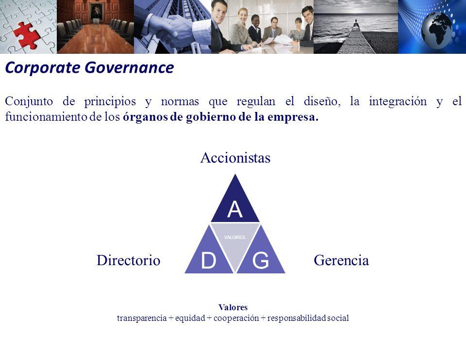 transparencia + equidad + cooperación + responsabilidad social