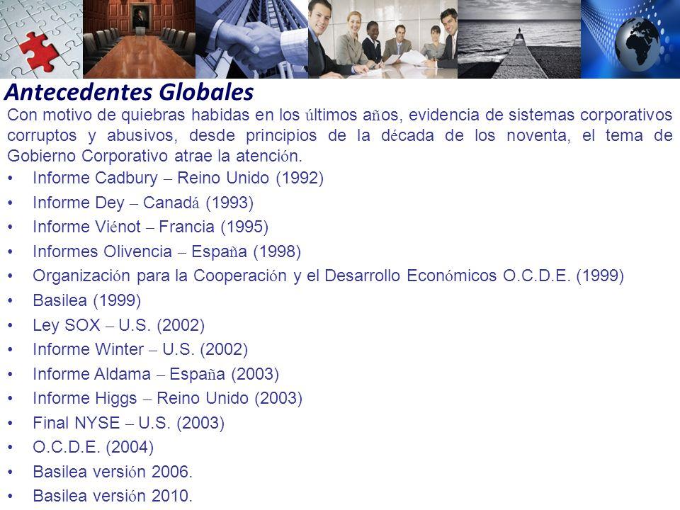 Antecedentes Globales
