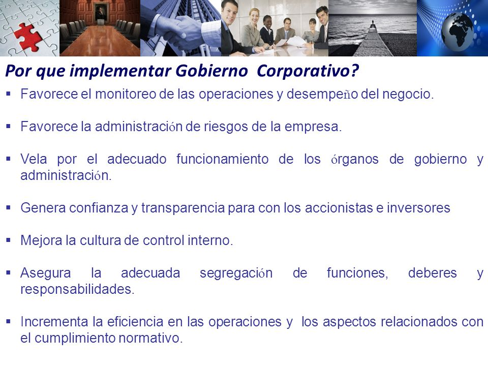 Por que implementar Gobierno Corporativo