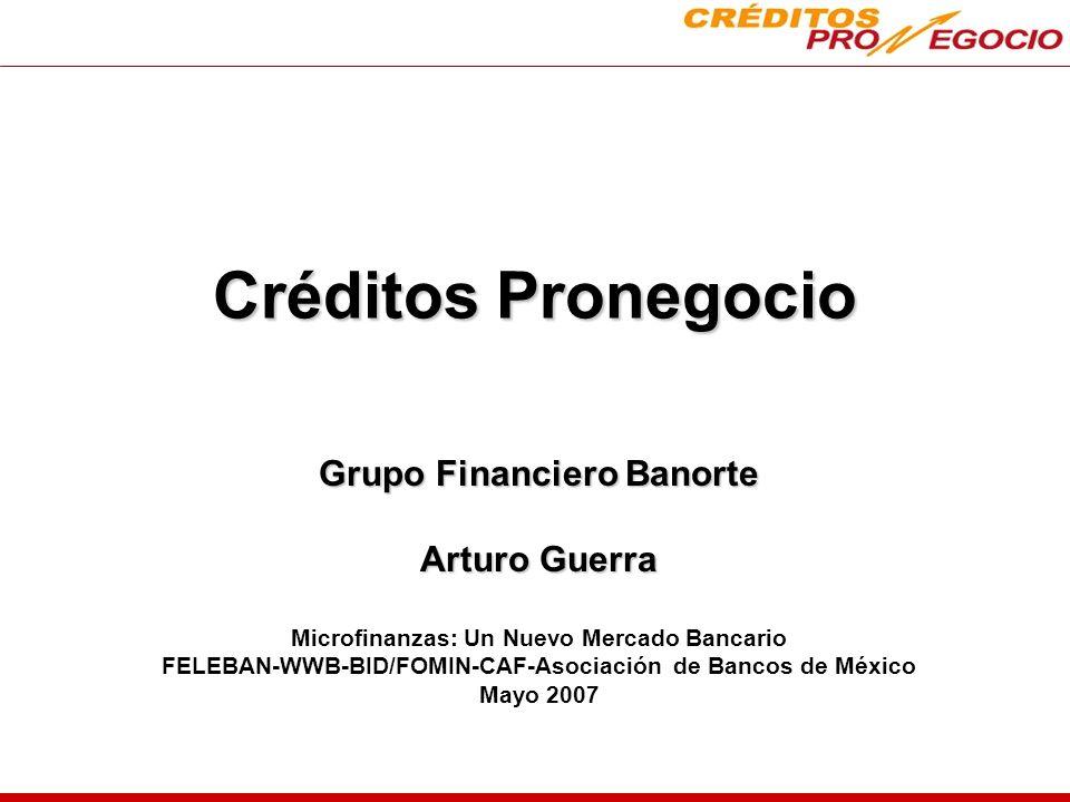 Créditos Pronegocio Grupo Financiero Banorte Arturo Guerra