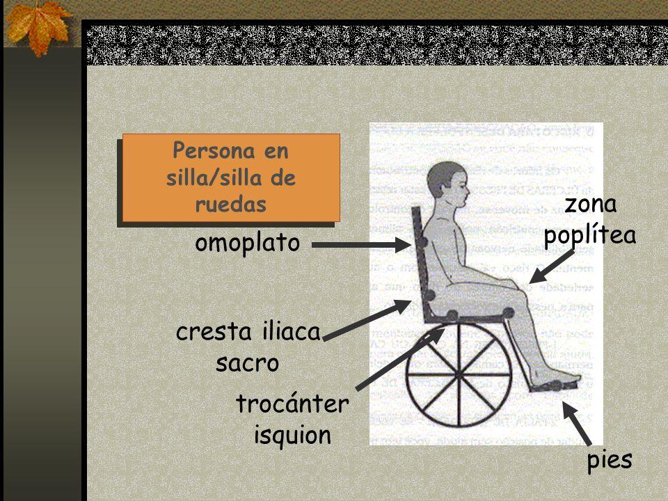 Persona en silla/silla de ruedas