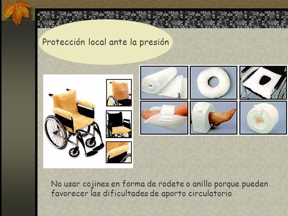 Protección local ante la presión
