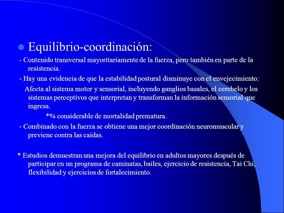Equilibrio-coordinación: