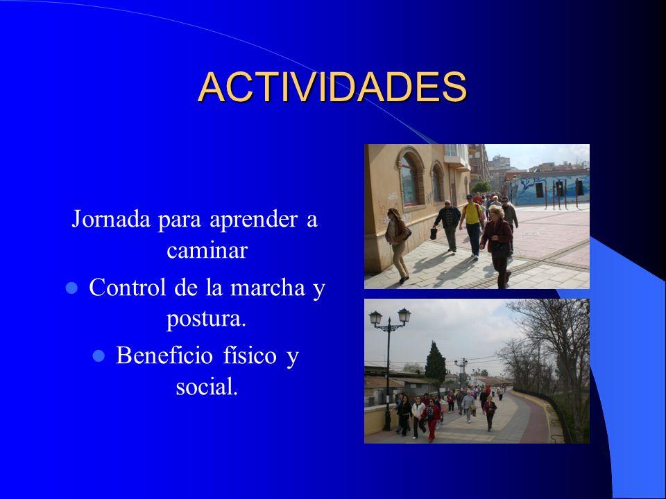 ACTIVIDADES Jornada para aprender a caminar