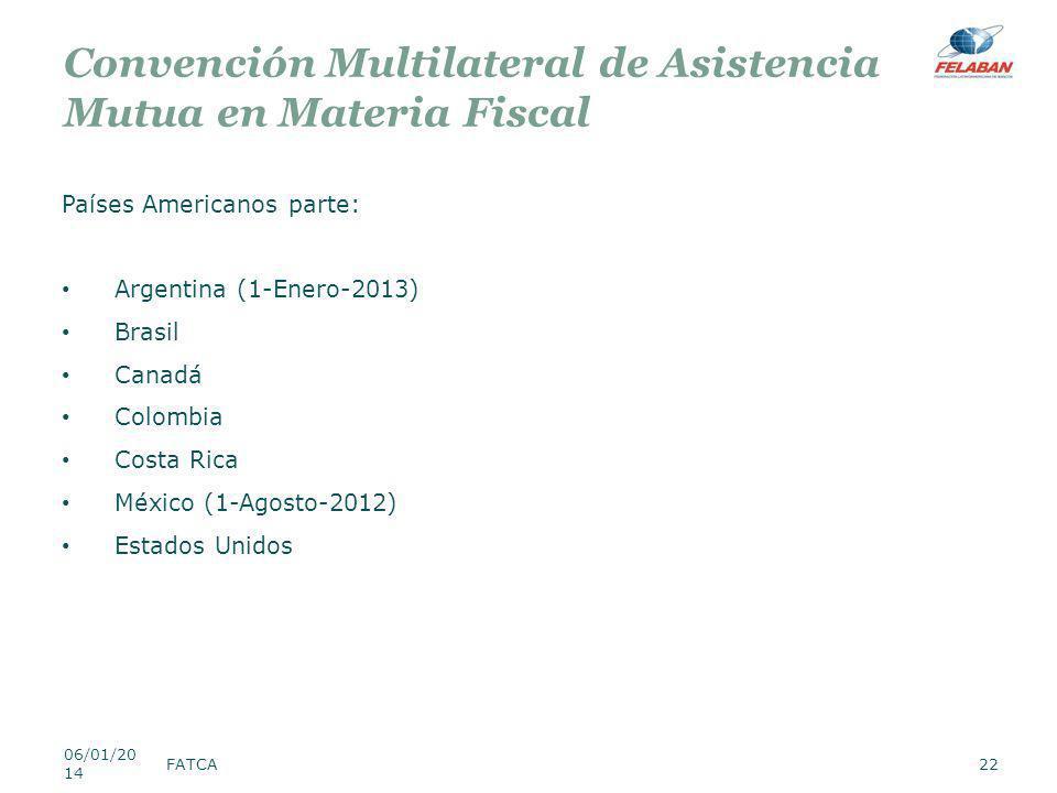 Convención Multilateral de Asistencia Mutua en Materia Fiscal