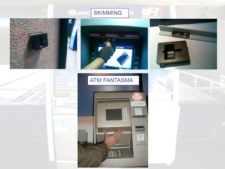SKIMMING ATM FANTASMA