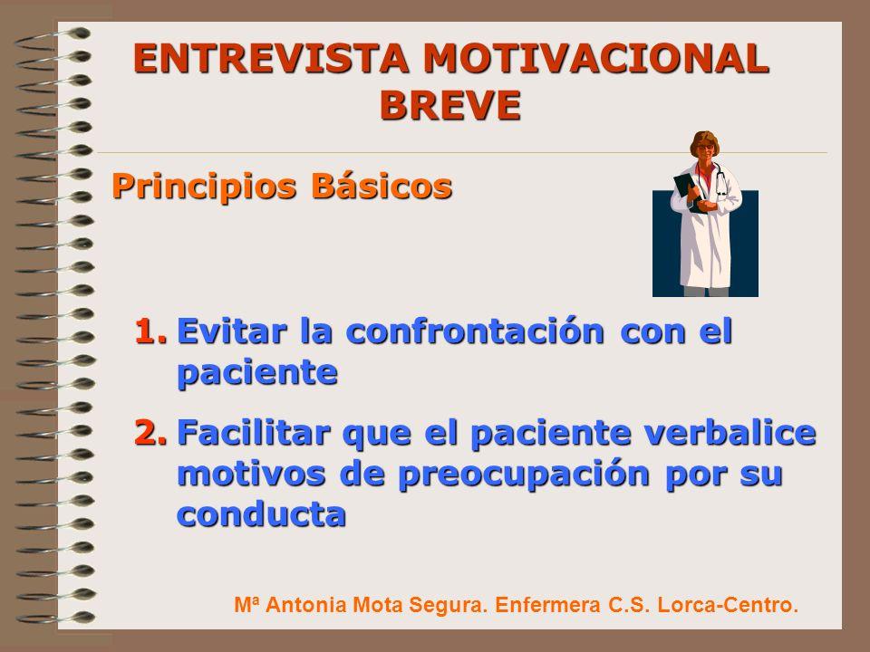 ENTREVISTA MOTIVACIONAL BREVE