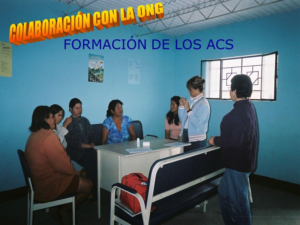 PARTICIPACIÓN EN LA FORMACIÓN DE LOS ACS