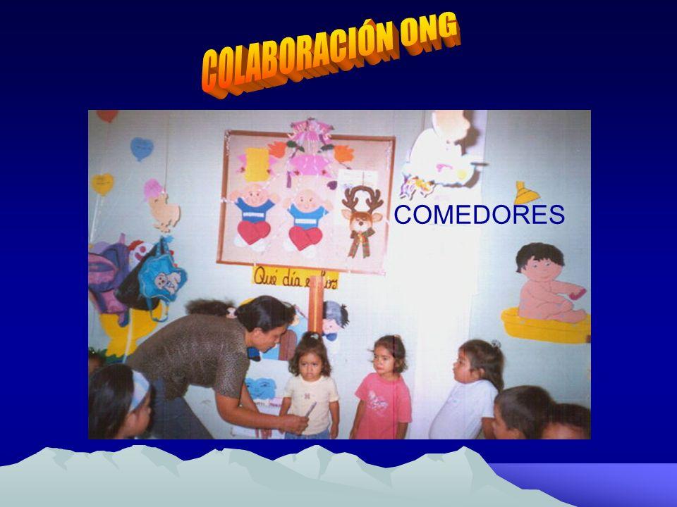COLABORACIÓN ONG COMEDORES