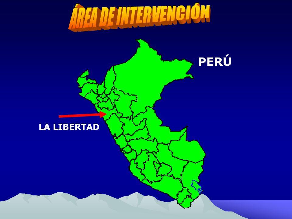 ÁREA DE INTERVENCIÓN PERÚ LA LIBERTAD