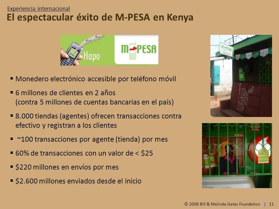 El espectacular éxito de M-PESA en Kenya