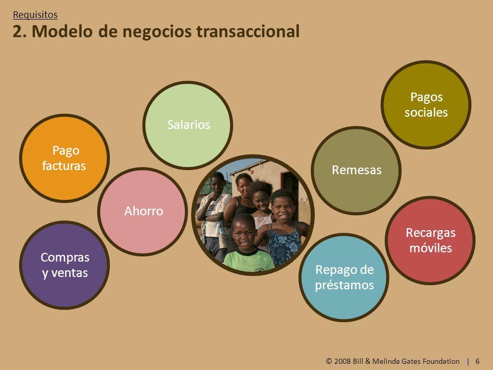 2. Modelo de negocios transaccional