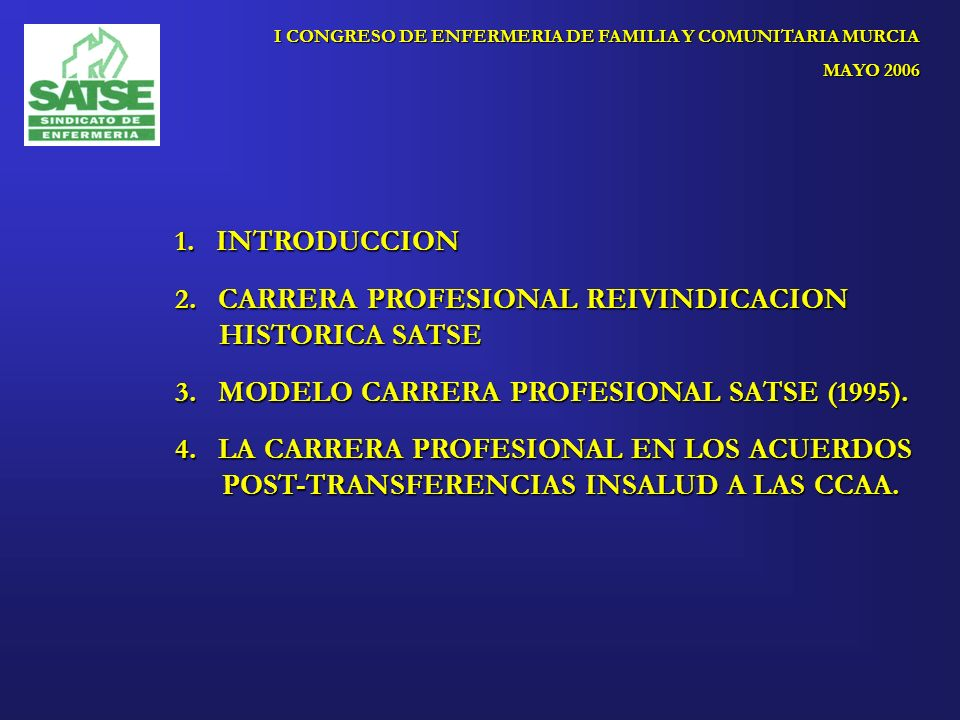 I CONGRESO DE ENFERMERIA DE FAMILIA Y COMUNITARIA MURCIA