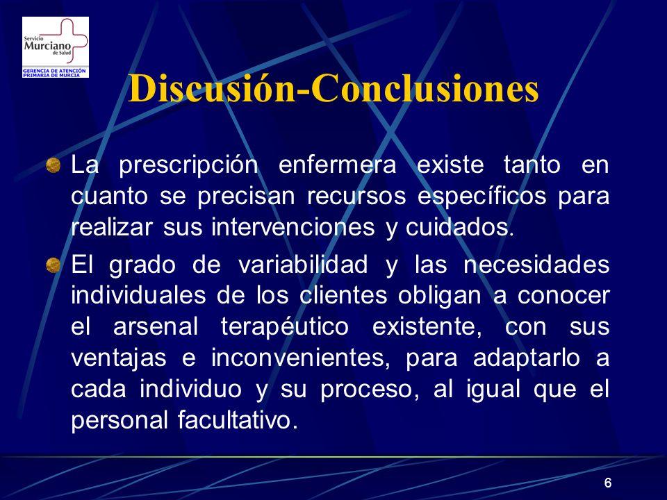 Discusión-Conclusiones
