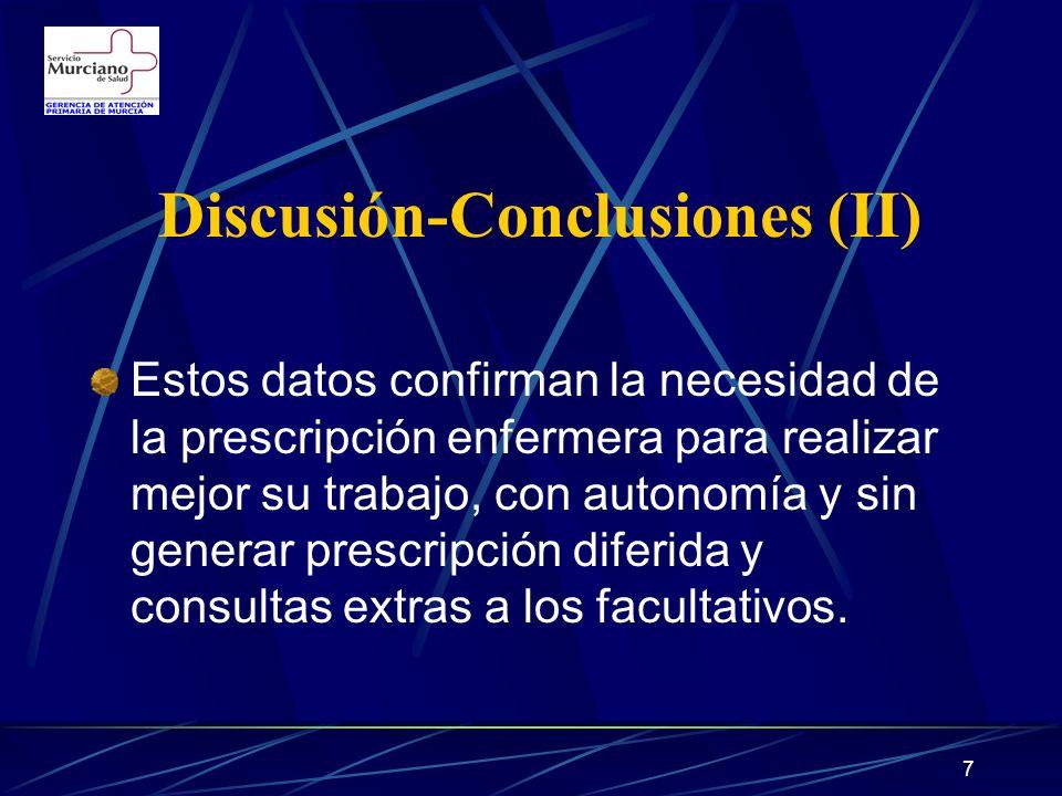Discusión-Conclusiones (II)