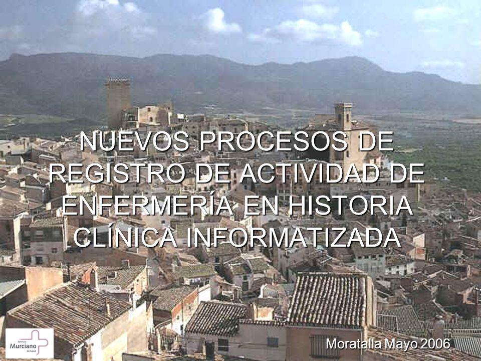 NUEVOS PROCESOS DE REGISTRO DE ACTIVIDAD DE ENFERMERÍA EN HISTORIA CLÍNICA INFORMATIZADA